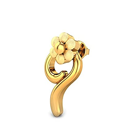 Candere By Kalyan Jewellers 22k (916) Yellow Gold Evie Stud Earrings