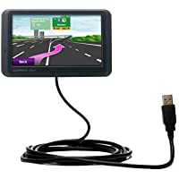 USB Data Hot Sync Straight Cable designed for the Garmin nuvi 765 with Charge Function – Two functions in one unique Gomadic TipExchange enabled cable