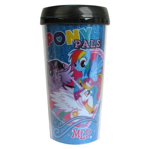 MLP: Freundschaft ist Magic Pony Pals Glitzer 16Oz Reisen Becher