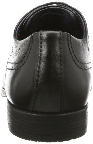 Bugatti U73011, Scarpe stringate uomo nero (Schwarz (schwarz 100))