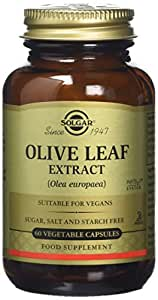 Solgar Olive Leaf Extract Vegetable Capsules - Pack of 60