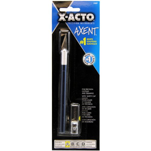 x-actor-axent-1-craft-knife-w-cap-blue