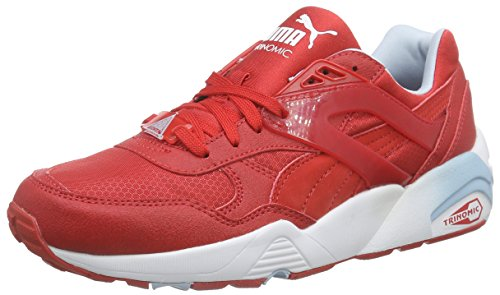Puma R698 Mesh-Neoprene Jr, Baskets Basses Mixte Enfant