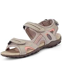 Geox Sandal STREL D9225B Mujer Sandalias de Vestir,Senderismo Sandalias,fémina  Sandalia para Exterior 7bae1eccb1
