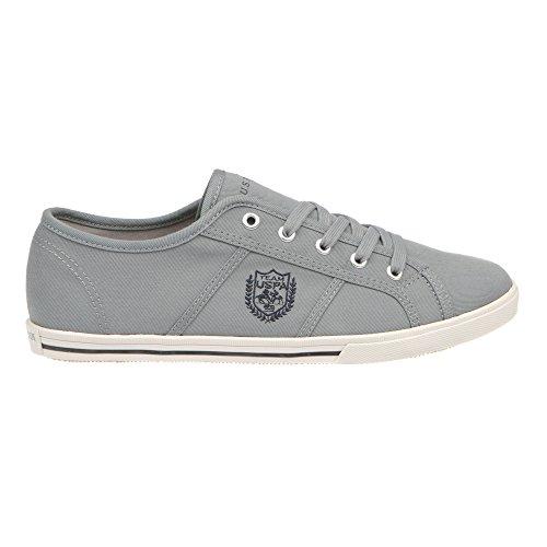 U.S. POLO Herren Sneaker Schuhe mit Schnürverschluss - mod. RUMBO4186S7-C1 Grau