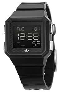 Adidas ADH4003 Unisex Digital Dial Black PU Strap Watch