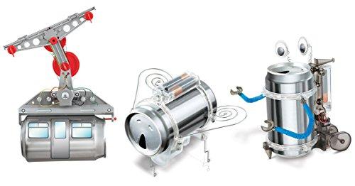 4m Blechdose Set–Kabel Auto, Robug & Roboter