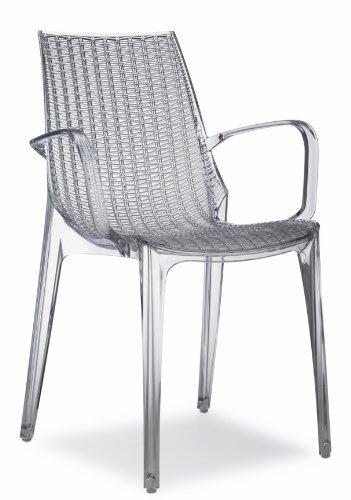 Chaise Tricot Scab Transparent
