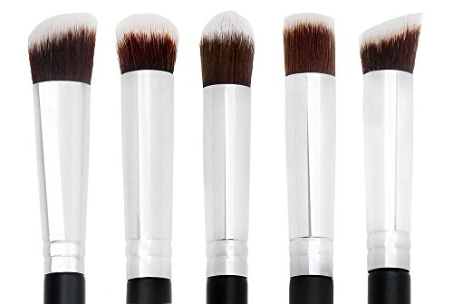 House of Quirk Professional Eyeshadow Brush Set of 5 Pcs Makeup Brushes Eye Makeup Kit