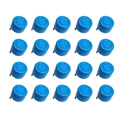 VORCOOL Wasserkrugkappe, 20 Stück Wiederverwendbare Wasserkrüge Anti-Splash-Kronkorken
