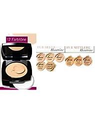 Avon Idéal Flawless Foundation Crème avec finition pudrigem couleur Shell