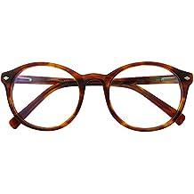 OCCI CHIARI W-COCCO Occhiali da Vista Leggeri Non Graduati Ovali Montatura con Spring Hinge Decorativo Trasparente Donna 0jGNmv