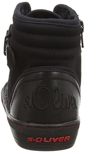 s.Oliver252 - Scarpe da Ginnastica Basse Donna Nero (Nero (Black 001))