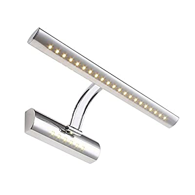 Dual light source Picture Wall Lights 5W,Stainless Steel,Warm White(German imports)