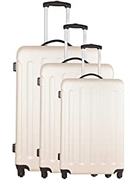 Torrente Set 3 Trolley Zeta Beige