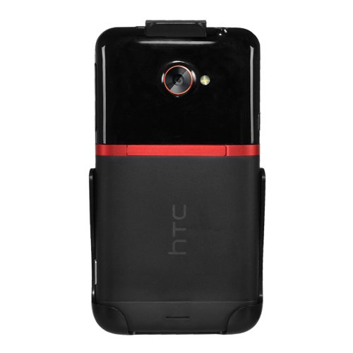 Seidio HLHTJETAS HTC EVO 4G LTE, ohne Hülle, in Einzelhandelsverpackung, Schwarz (Evo Handy 4g Htc Lte)
