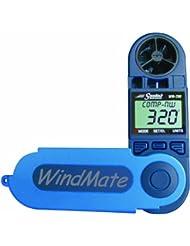 Speedtech Windmate Windspeed WM - 200/-richtung und Kompass, Blau