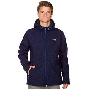 THE NORTH FACE Zermatt Men's Hooded Jacket Full Zip empire blue heather Size:XXL