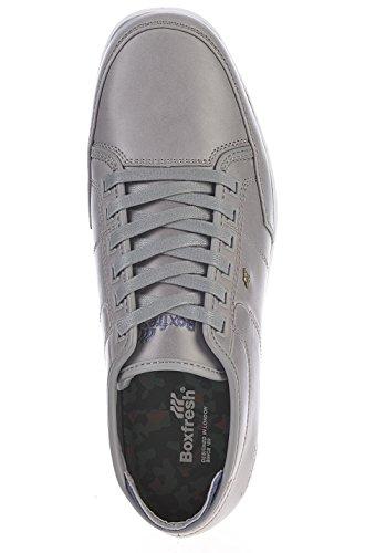 Boxfresh Sneaker Men - SPARKO NC LEA - Dk Brn-Ant Brz hellgrau