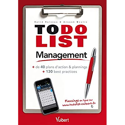 Management - + de 40 plans d'actions & plannings et 130 best pratices