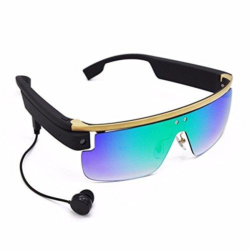 Lacaca Smartglasses, kabellos, Bluetooth, Android, 8MP HD-Kamera, Rahmen aus Titan-Legierung, 8GB RAM...