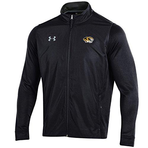 Under Armour NCAA Herren Tech Terry Full Zip Jacke, Herren, Tech Terry Full-Zip Jacket, schwarz, Medium Terry Zip Jacket