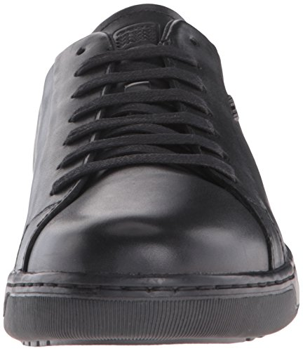 Geox Uomo Ricky F, Baskets Basses Homme Noir (Black)