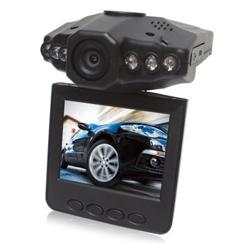 Preisvergleich Produktbild Bewegliche HD DVR -Auto-Kamera W360 mit 2.5'' TFT -LCD-Bildschirm Überwachungskamera nachtsicht rekorder