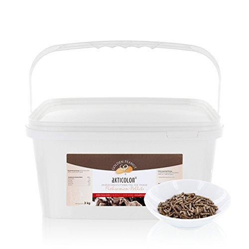 Akticolon Flohsamen Pellets 3 Kg Flohsamenschalen Ergänzungsfutter Pferd - Einfach Flohsamen