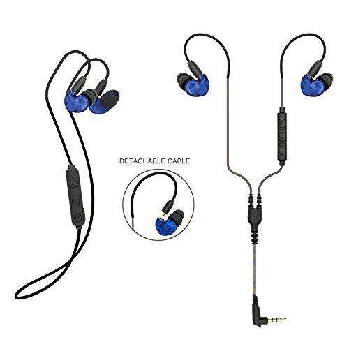 3299b7ecc kscat BC05 auricular con Bluetooth 4.1 auriculares in-ear kopfhöre 2 en 1  con micrófono