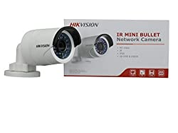 Hikvision DS-2CD2032-I 1/3 CMOS 3MP IR Fixed Focal Lens Bullet Camera HD Waterproof Security Network Cctv IP Camera 6mm (Support POE)