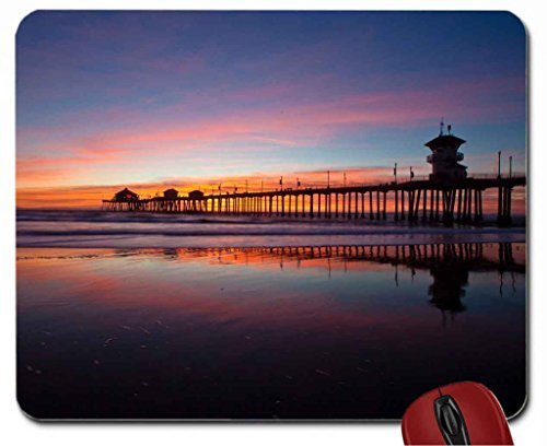 Huntington Beach Pier Mouse Pad computer Mouse Pad 220mm*180mm*3mm