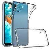 "Coque pour Huawei Y6 2019, GeeRic Anti-Slip Transparente Silicone Coque Huawei Y6 2019 Etui Housse Huawei Y6 2019 Case 6,09"""