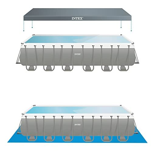 Intex – Piscina Rettangolare, Pompa di filtraggio a Sabbia