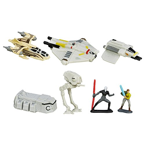 Star Wars Rebels Micro Machines Deluxe véhicule Lot Rebellion Rising