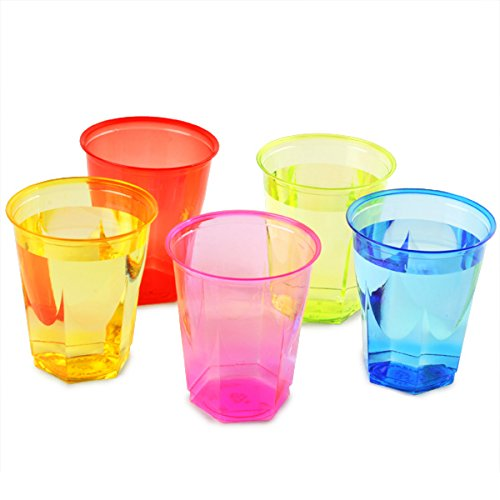crystal-rainbow-disposable-party-cups-88oz-250ml-set-of-50-plastic-cups-polystyrene-cups