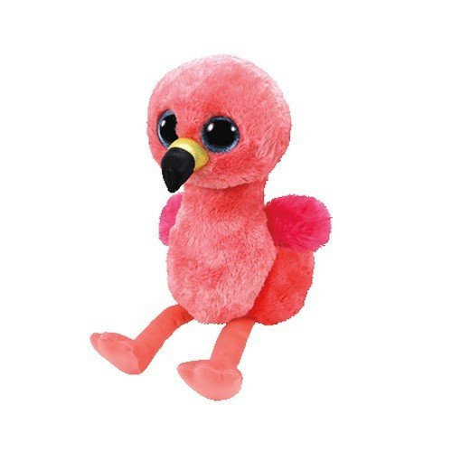 "Beanie Boo Flamingo - Gilda - 15cm 6"""