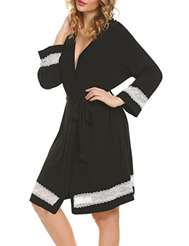 HOTOUCH -  Accappatoio  - Donna Black