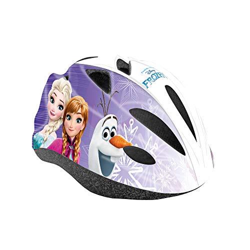 Disney Frozen Fahrradhelm für Kinder, Weiß, Größe M (52-56cm)