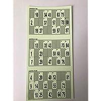 900 CARTONES TROQUELADOS DE Bingo
