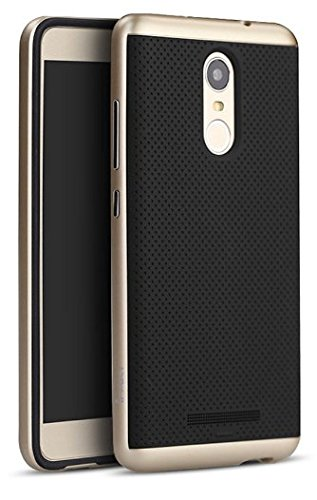 Tidel iPaky Hybrid Ultra Thin Shockproof Back + Bumper Case Cover for Xiaomi Redmi Note 3  available at amazon for Rs.189