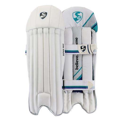 SG Super Test Handschuhe für Wicketkeeper Leg Guard Pads Herren Größe