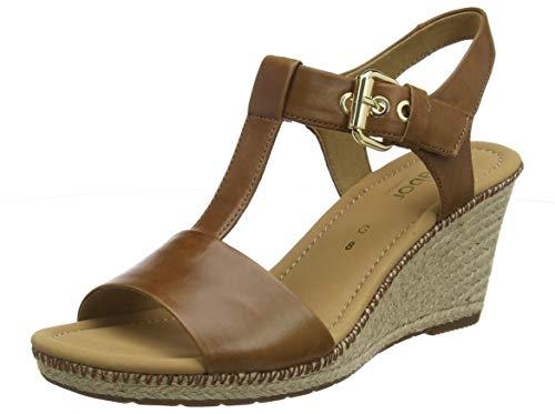 Gabor Sport Shoes 5 RiemchensandalenBraunpeanutjutenaht5538 Comfort Damen Eu KJ1lc3TF