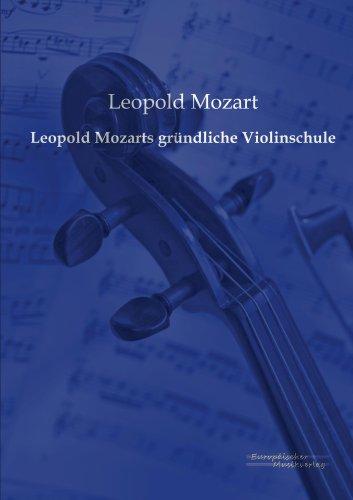 Leopold Mozarts gründliche Violinschule