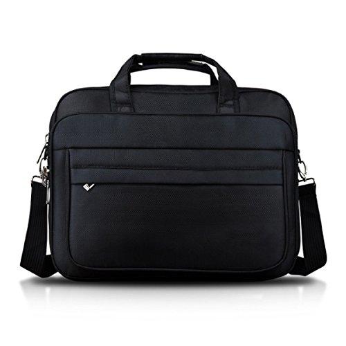 Männer Handtasche Business Bag Aktenkoffer Herren Tasche Umhängetasche Beiläufige Tasche Computer Tasche Black