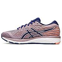 ASICS Gel-Cumulus 21, Women's Road Running Shoes, Multicolour (Violet Blush/Dive Blue), 39 EU