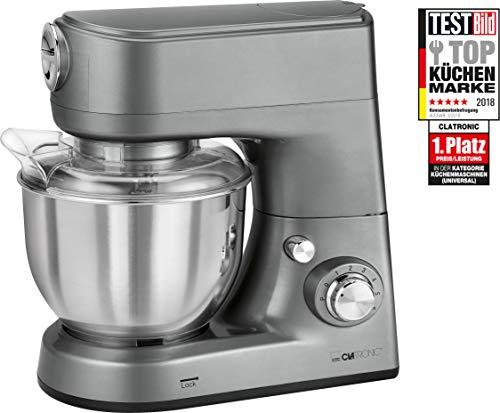 Clatronic KM 3648 Robot de Cocina multifunción amasadora, picadora de Carne, batidora Vaso, Pasta...