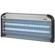 Eurom–Lámpara antinsectos y antimosquitos (2x 20W 2500V UV lámpara Mosquitera lámpara vernichter