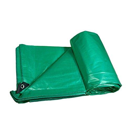 CGF-210209 Grüne Plane-wasserdichte Plane-Plastikschatten-Stoff-Sonnenschutz-Stoff-LKW-Auto-Plane kann die Unterstützung sein, die nach Maß, Stärke 0.35mm, 180g/m2, 14 Größen-Wahlen ist (größe : 5*7) (Unterstützung Sitzgelegenheiten)