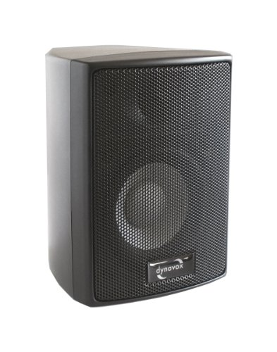 Dynavox AS-301 High Class - Altavoces satélite (60 W, 2 unidades), color negro